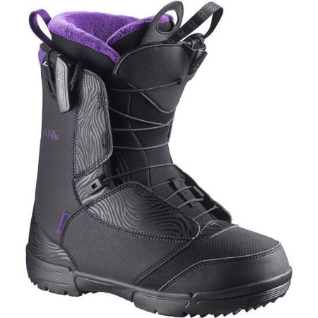 BUTY SNOWBOARDOWE SALOMON 15/16 PEARL BLACK/GRAPE JUICE