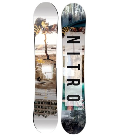 DESKA SNOWBOARDOWA NITRO 16/17 TEAM GULLWING EXPOSURE WIDE