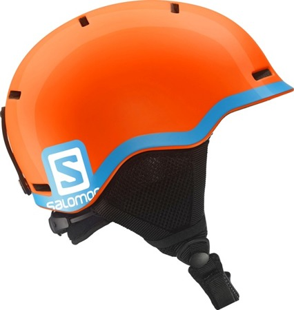JUNIORSKI KASK SALOMON 17/18 GROM Fluo Orange/Blue