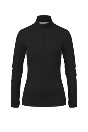 BLUZA KJUS WOMEN FEEL HALF-ZIP Black 2020