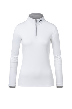 BLUZA KJUS WOMEN FEEL HALF-ZIP White 2020