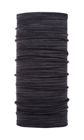 BUFF MERINO WOOL MIDWEIGHT CASTLEROCK GREY MULTI STRIPES
