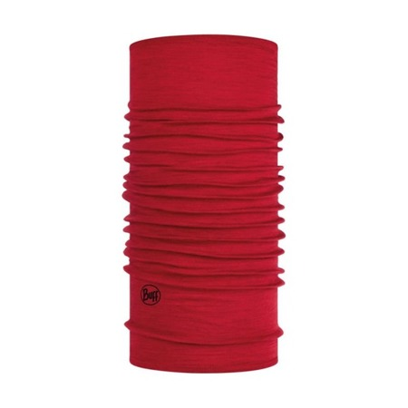 BUFF MERINO WOOL MIDWEIGHT Solid Red