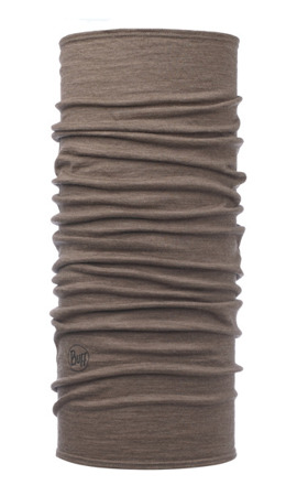 BUFF WOOL LIGHTWEIGHT Solid Walnut Brown