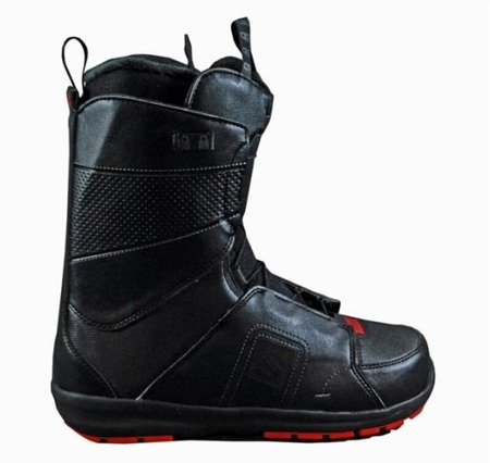 BUTY SNOWBOARDOWE 13/14 SALOMON FACTION BLK/RED/BLK
