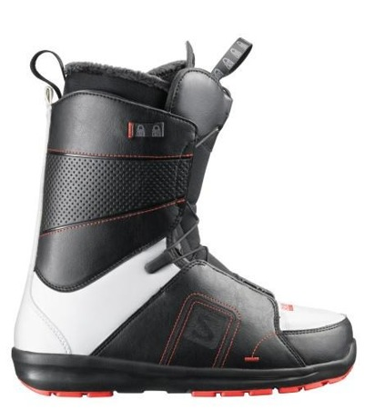 BUTY SNOWBOARDOWE 13/14 SALOMON FACTION BLK/WHT/RED