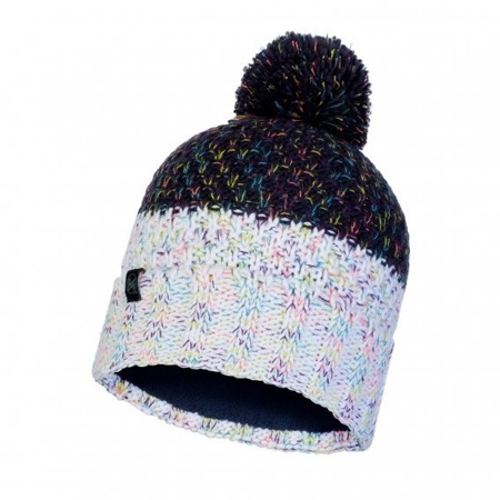 CZAPKA BUFF KNITTED & BAND POLAR HAT JANNA Night Blue