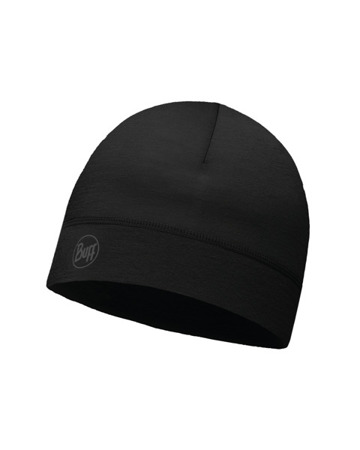 CZAPKA BUFF THERMONET SOLID BLACK
