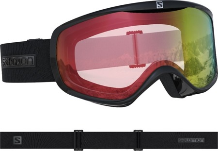 DAMSKIE GOGLE SALOMON 18/19 SENSE Black/All Weather Red