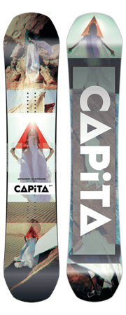DESKA SNOWBOARDOWA CAPITA 17/18 DEFENDERS OF AWESOME WIDE