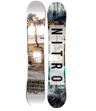 DESKA SNOWBOARDOWA NITRO 16/17 TEAM GULLWING EXPOSURE