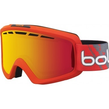 GOGLE BOLLE 15/16 NOVA II MAT RED GRADIENT / Fire Orange