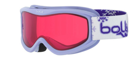GOGLE JUNIORSKIE BOLLE 16/17 AMP Purple Snow / Vermillon
