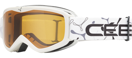 GOGLE JUNIORSKIE CEBE 16/17 TELEPORTER White / Orange