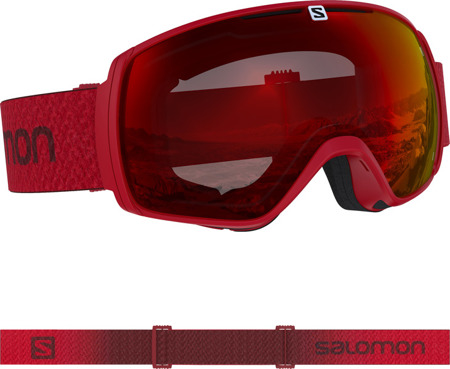 GOGLE SALOMON XT ONE Matador / Uni Mid Red