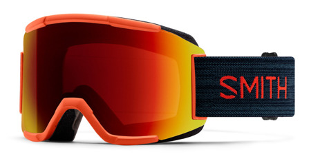 GOGLE SMITH SQUAD Red Rock 22Q - Sun Red Mirror / Std. Yellow 2020