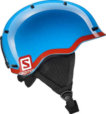 JUNIORSKI KASK SALOMON 17/18 GROM Blue/Red