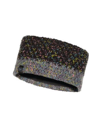 OPASKA BUFF KNITTED & POLAR HEADBAND JANNA BLACK