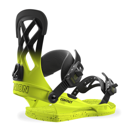 WIĄZANIA SNOWBOARDOWE UNION 17/18 CONTACT PRO VOLT YELLOW